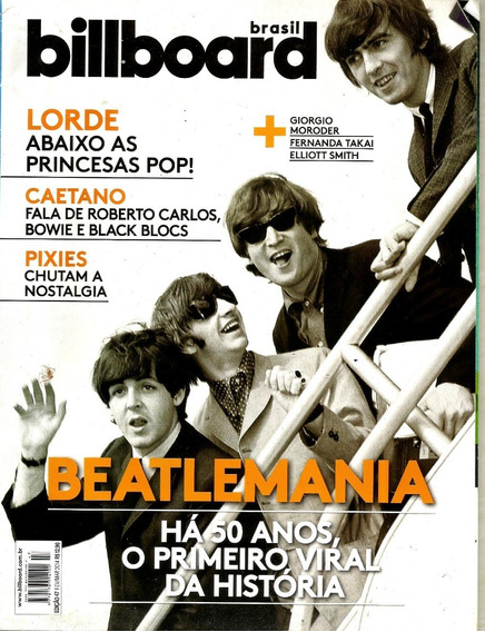 Revista Billboard 47/14 - The Beatles - 50 Anos De História