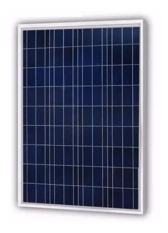Panel Solar Policristalino Alta Eficiencia 12v 100w New Powa