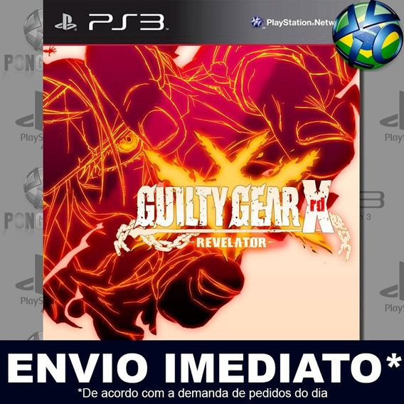 Guilty Gear Xrd Revelator Ps3 Digital Psn Promoção