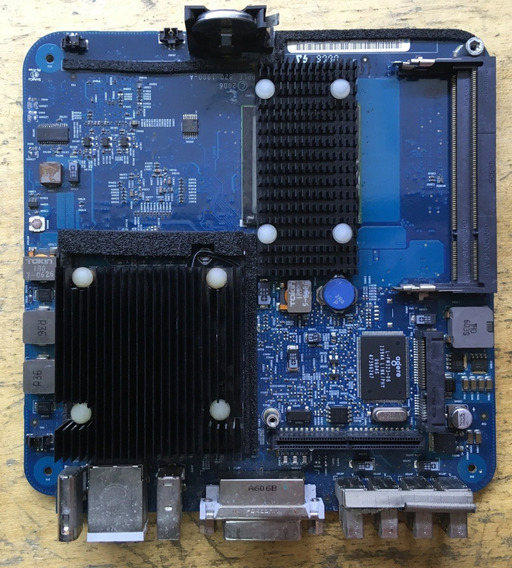 Placa Logica Apple Mac Mini 1.5ghz Solo A1176 Com Defeito