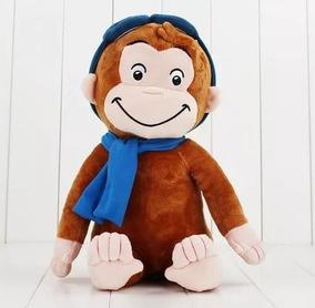 George O Curioso Pelúciapelúcia George O Curioso 30cm Macaco