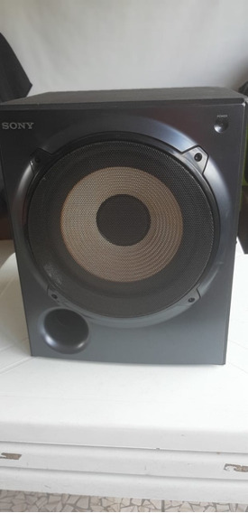 1 Caixa Amplificada Sony Muteki Sa-wp5000 165w Rms Sony