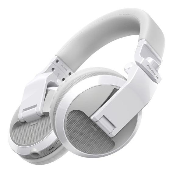 Fone de ouvido sem fio Pioneer HDJ-X5BT branco