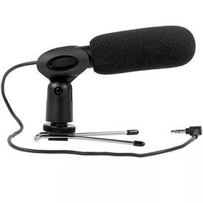 Microfone Direcional Shotgun Yoga Em-228 Profissional