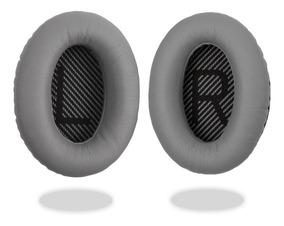 Espuma Para Fone Bose Qc15 Qc25 Qc 35 Ae2, Ae2i, Ae2w Cinza