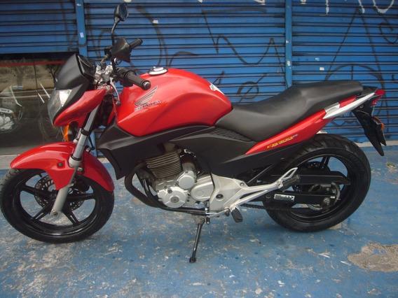 Honda Cb 300 R Ano 2012 Vermelha Troca Financia