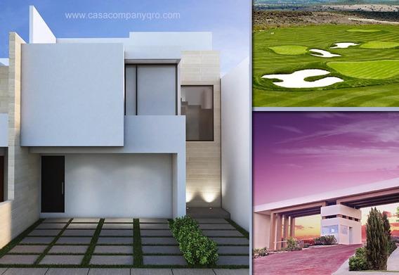 Preciosa Casa En Zibatá Con Roof Garden, 3 Recámaras, 4 Baños, Estudio, Jardín