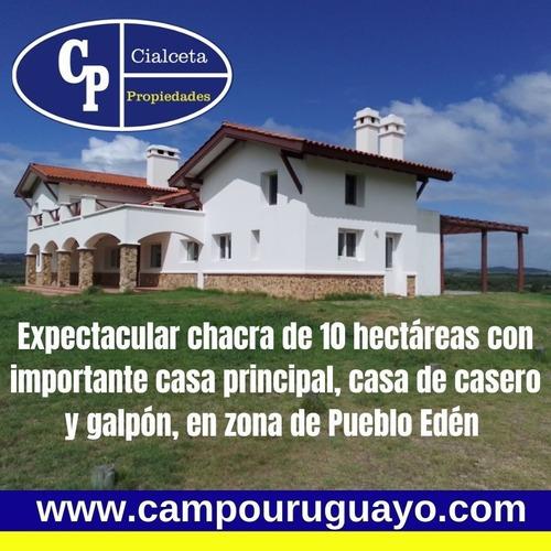 Chacra Con Muy Buena Casa, Mas Galpón Y Casa De Casero