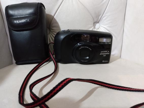 Câmera Fotográfica Yashica Zoomate 70 Perfeito Estado