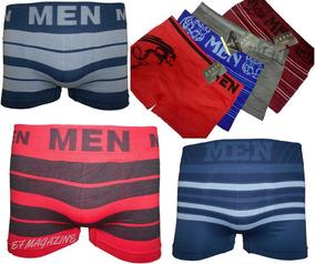 e2f94e89c Kit 10 Cuecas Box Boxer Originais Men Sem Costura Promoção