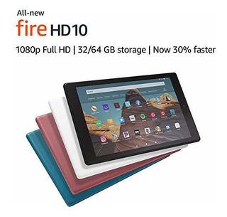 Tableta Allnew Fire Hd 10 Pantalla 10.1 1080p Full Hd, 64 Gb