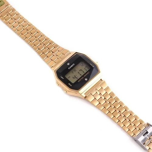 Relógio Casio Feminino Vintage Digital A159wged-1df -dourado