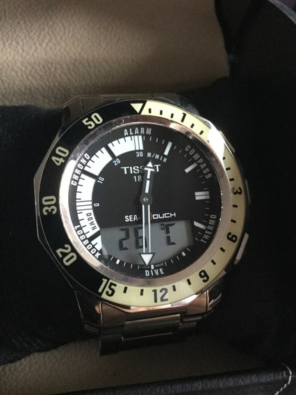 Relógio Tissot T-touch Sea Touch Ref. T026.420.11.051.00