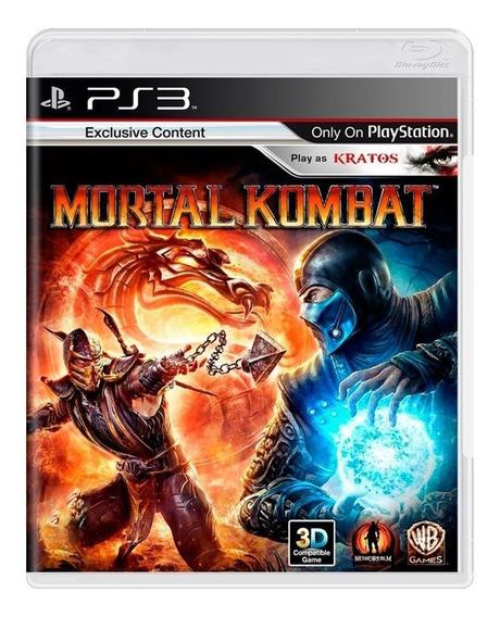 Mortal Kombat Ps3 Mídia Física Pronta Entrega