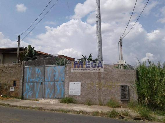 Terreno À Venda, 377 M² Por R$ 300.000 - Jardim Tamoio - Campinas/sp - Te0122