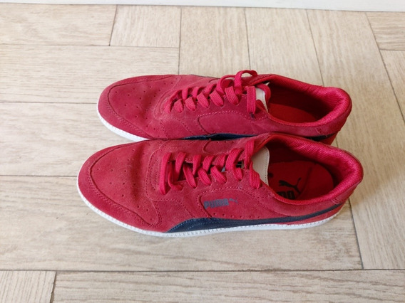 Puma ® Suede Original. Impecables. Gamuza Y Cuero. Impecable