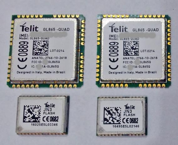Gsm Gl865 Quad + Gps Jn3 Telit - 865 Quad + Jn3