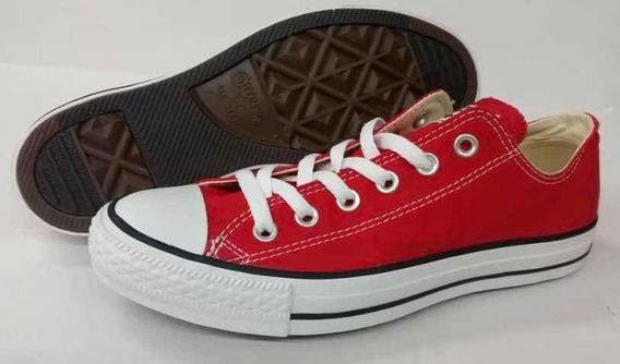 Converse Rojos 9.5 Americano, (28 Cms)