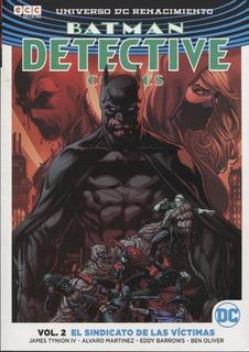 Detective Comics 2 Sindicato De Las Victimas - Ecc Argentina