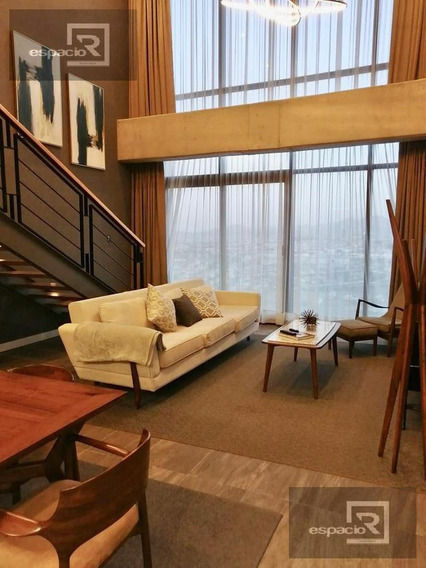 Penthouse Amueblado En Renta En Metroloft