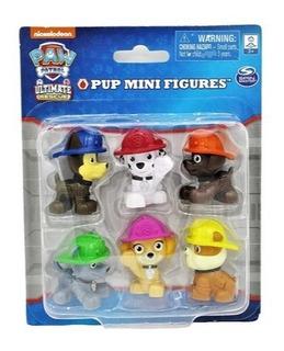 Paw Patrol Set Mini Fig En Blister X 6 Int 16708 Original