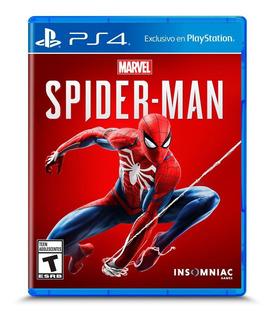 Juego Spiderman Ps4