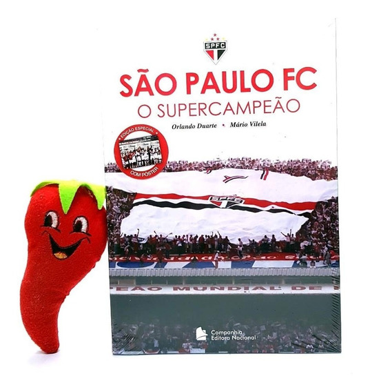 Livro São Paulo Fc O Supercampeão (loja Do Zé)