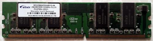 Memoria Pc 256 Mb Ddr 333mhz
