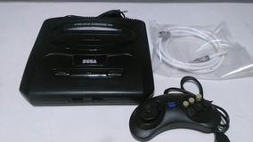 Sega Mega Driver 3 Com 10 Jogos Na Memoria,1 Controle