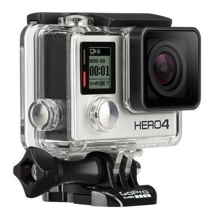 Gopro Hero 4 Silver + Case Thule - Seminovos - 12x Sem Juros
