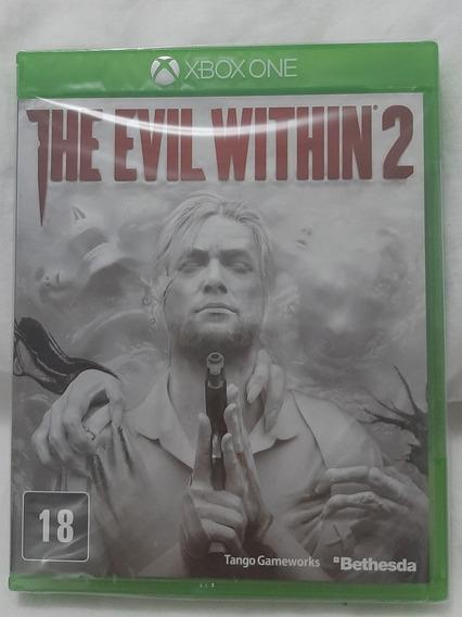 Jogo Xbox One The Evil Within 2 Mídia Física Original Novo