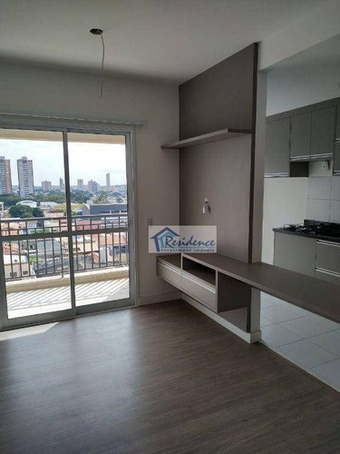 Imagem 1 de 30 de Apartamento Com 2 Dormitórios Para Alugar, 62 M² Por R$ 2.200,00/mês - Condomínio Edifício Class - Indaiatuba/sp - Ap0547