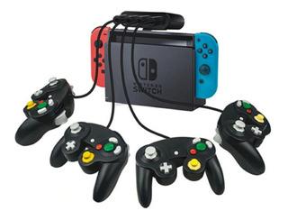 Adaptador 4 Controles Gamecube Nintendo Switch Pc Env Grats