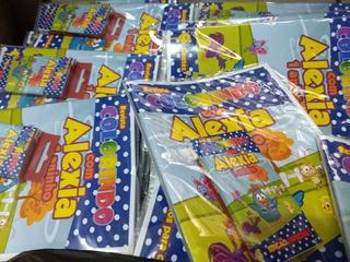 40 Kits Revistas Colorir Com Giz De Cera + 40 Sacolas