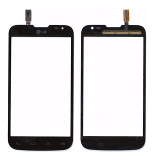 Tela Vidro Touch Screen Lg L70 D325f8 D340 Preto