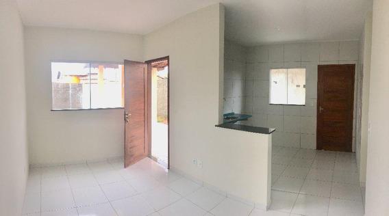 Casa Em Central Parque Club, Extremoz/rn De 66m² 2 Quartos À Venda Por R$ 99.900,00 - Ca273945