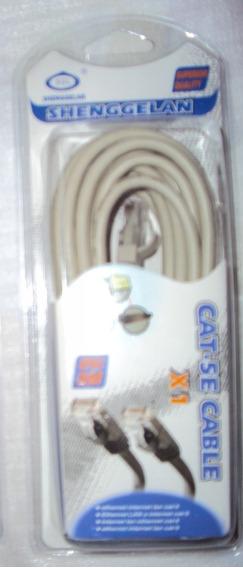 Ethernet Cabo Cat 5e 5m