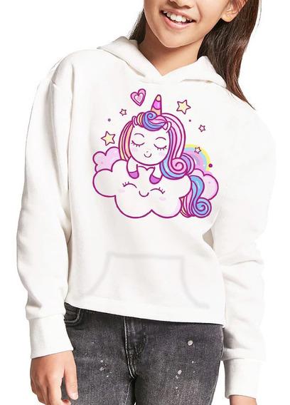 Sudadera Para Niñas Todas Las Tallas Unicornio Magico Moda