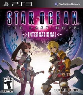 Star Ocean The Last Hope International Playstation 3