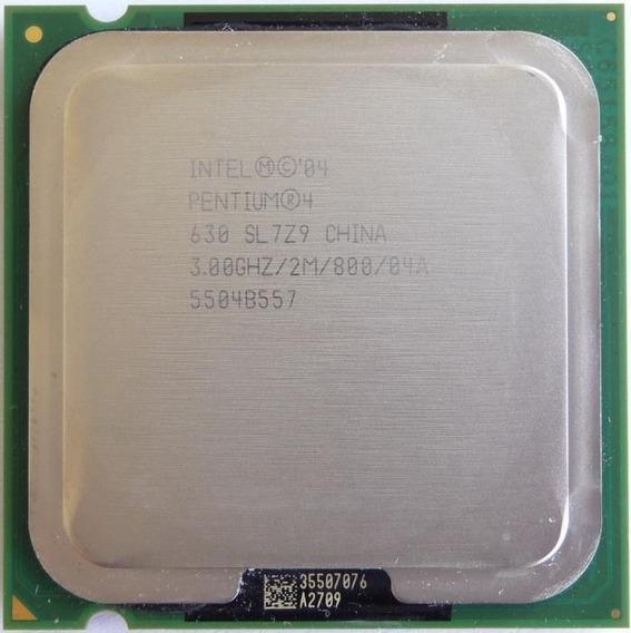Processador Lga 775 Pentium 4 3.0ghz 2mb Sl7z9 Prescott Novo