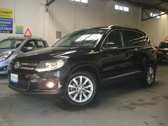 Volkswagen Tiguan Track & Fun Piel Qc Gps Factura De Agencia