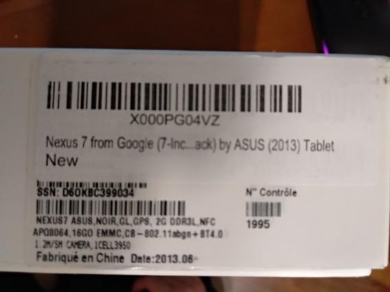 Tablet Nexus 7 2013 16gb Em Bom Estado