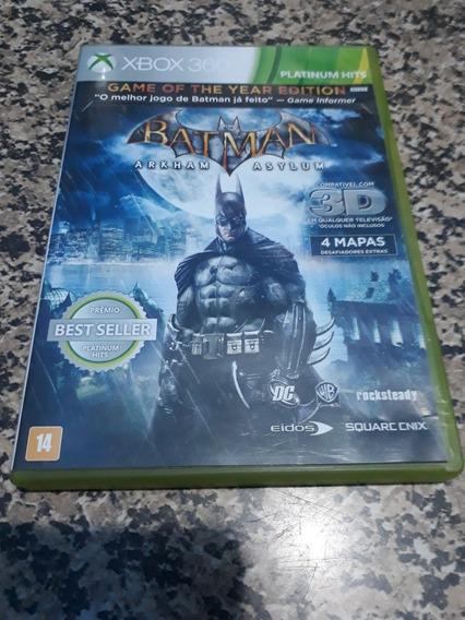 Jogo Xbox 360 Batman Arkham Asylum