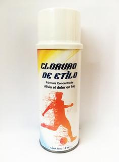 Cloruro De Etilo En Spray Caja De 12 Pzas De 16oz (400ml)