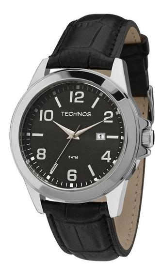 Relógio Technos Masculino 2115mlb/0p Aço Couro Oferta