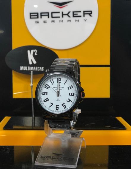 Relógio Analógico Backer Germany 6488113m- 100%original