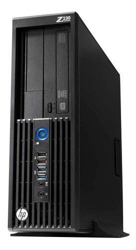 Cpu Workstation Hp Z230 Intel Xeon E3-1245 4g Hd 1tb Com Nf