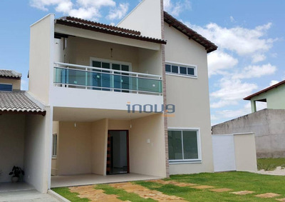 Casa Com 3 Dormitórios À Venda, 184 M² Por R$ 500.000 - Luzardo Viana - Maracanaú/ce - Ca0453