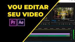 Imagem 1 de 4 de Vou Editar Seu Vídeo De Forma Pro
