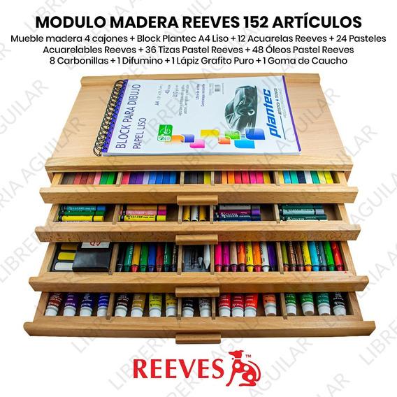152 Articulos Cajonera Giotto Lapices Marcadores Crayones